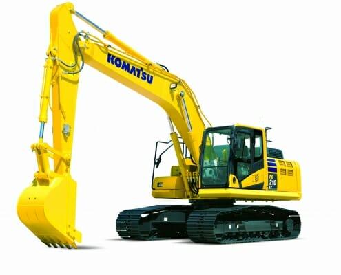 Komatsu Hydraulikbagger PC210