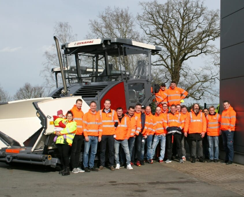 Das Team der Stüve Straßenbau GmbH